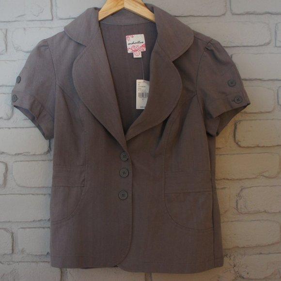 Anchor Blue Jackets & Blazers - NWT Anchor Blue Short Jacket